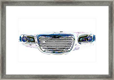 Car Mri Framed Print by Tom Gari Gallery-Three-Photography