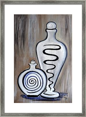 Carafes Framed Print by Eva-Maria Becker