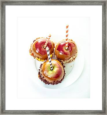 Caramel Apples Framed Print by Edward Fielding