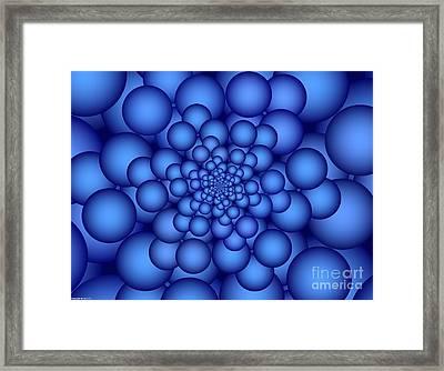 Carbonation Framed Print by TJ Art