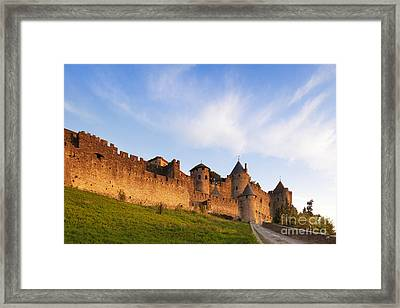 Carcassonne Languedoc Roussillon France Framed Print by Colin and Linda McKie