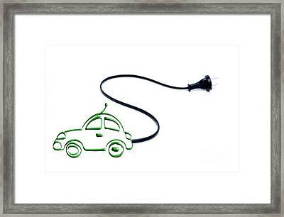 Car.concept Environment Framed Print by Bernard Jaubert