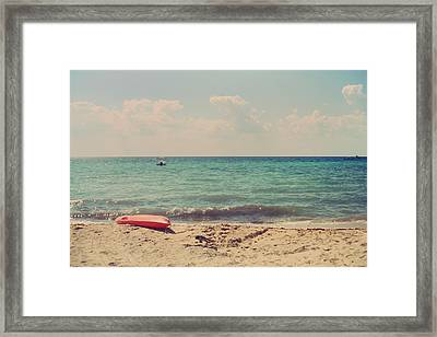 Carefree Framed Print by Laurie Search