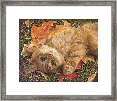 Carefree Framed Print by Lucie Bilodeau