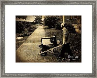 Careful With That Its Expensive Framed Print by John Malone Halifax photographer