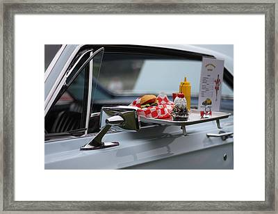 Carhop Framed Print by Dan Sproul