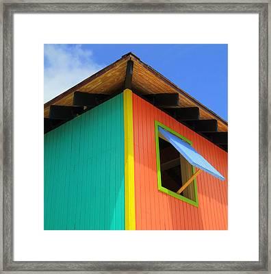 Caribbean Corner 1 Framed Print by Randall Weidner