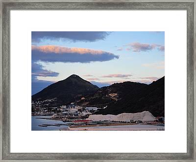 Caribbean Cruise - On Board Ship - 1212163 Framed Print by DC Photographer