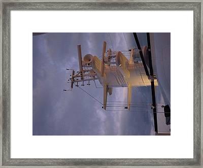 Caribbean Cruise - On Board Ship - 1212205 Framed Print by DC Photographer
