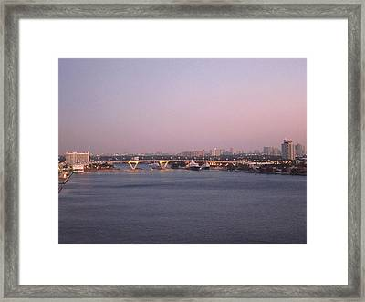 Caribbean Cruise - On Board Ship - 1212229 Framed Print by DC Photographer