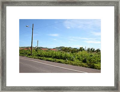 Caribbean Cruise - St Kitts - 121243 Framed Print by DC Photographer