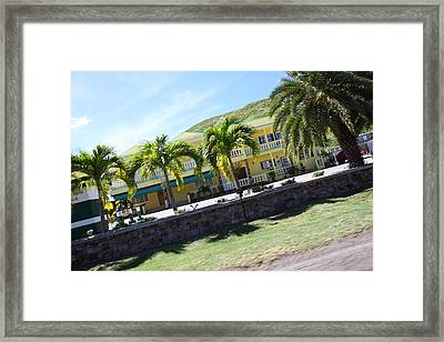 Caribbean Cruise - St Kitts - 121250 Framed Print by DC Photographer