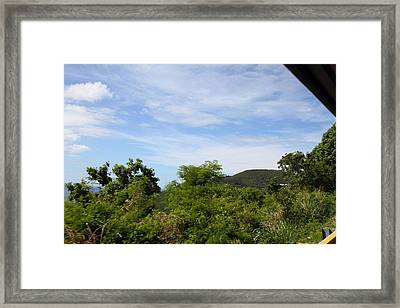 Caribbean Cruise - St Thomas - 1212137 Framed Print by DC Photographer