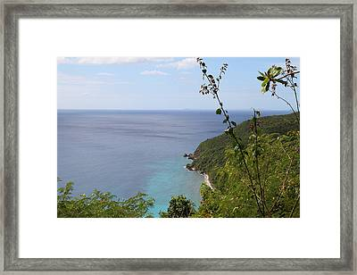 Caribbean Cruise - St Thomas - 1212146 Framed Print by DC Photographer