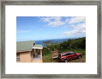 Caribbean Cruise - St Thomas - 1212172 Framed Print by DC Photographer
