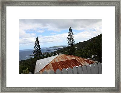 Caribbean Cruise - St Thomas - 1212193 Framed Print by DC Photographer