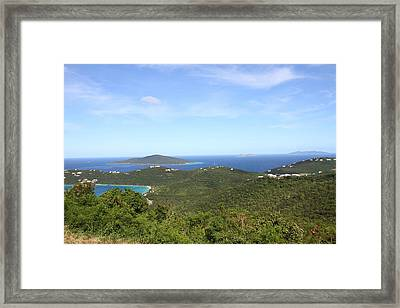 Caribbean Cruise - St Thomas - 1212236 Framed Print by DC Photographer