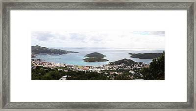 Caribbean Cruise - St Thomas - 12124 Framed Print by DC Photographer
