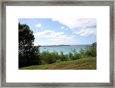 Caribbean Cruise - St Thomas - 121274 Framed Print by DC Photographer