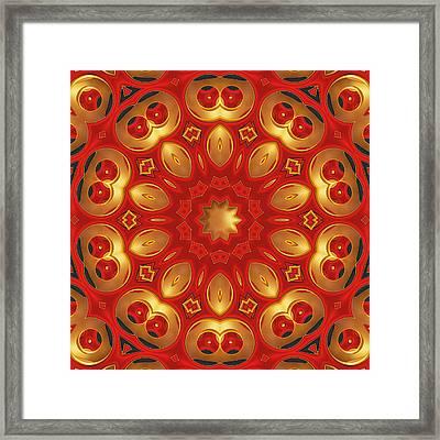 Carlotta - For Metallic Paper Framed Print by Wendy J St Christopher