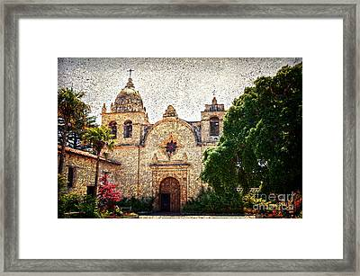 Carmel Mission Framed Print by RicardMN Photography