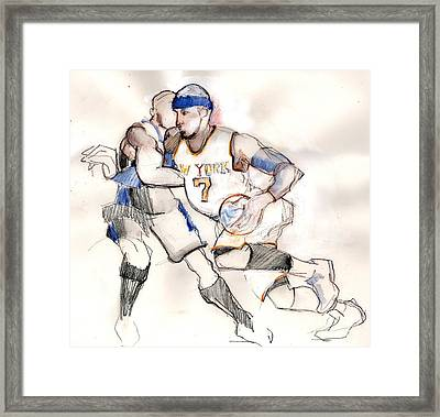 Carmelo Framed Print by Carolyn Weltman