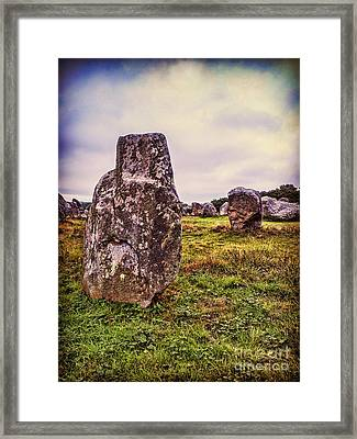 Carnac Framed Print by Colin and Linda McKie
