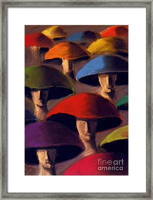Carnaval Framed Print by Mona Edulesco