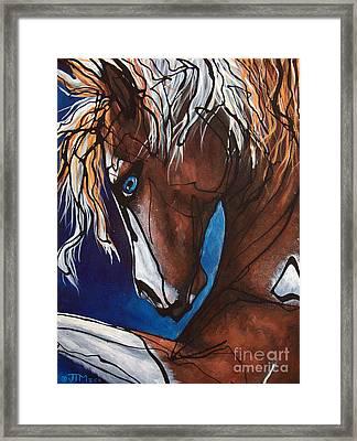 Carnaval Ride Framed Print by Jonelle T McCoy