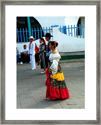 Carnival 2006 Framed Print by Dick Botkin