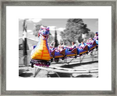 Carnival Framed Print by Cassandra Buckley