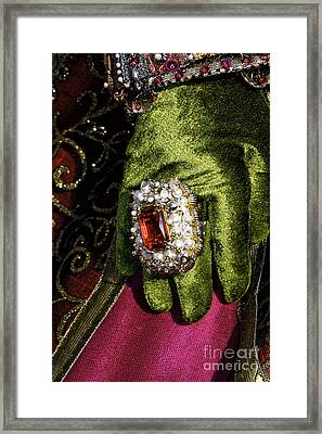 Carnival Glamour Framed Print by John Rizzuto