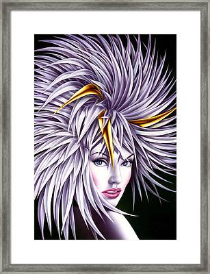 Carnival Gold Framed Print by Andrew Farley