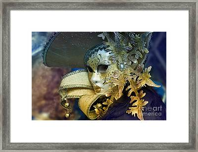 Carnival In Venice 18 Framed Print by Design Remix