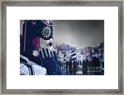 Carnival In Venice 20 Framed Print by Design Remix