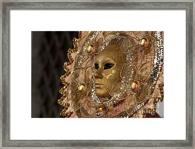 Carnival In Venice 8 Framed Print by Design Remix