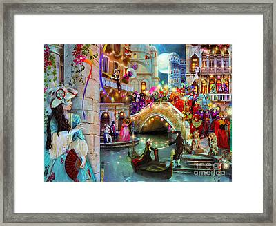 Carnival Moon Variant 1 Framed Print by Aimee Stewart