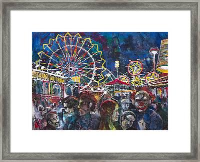 Carnival Framed Print by Patricia Allingham Carlson