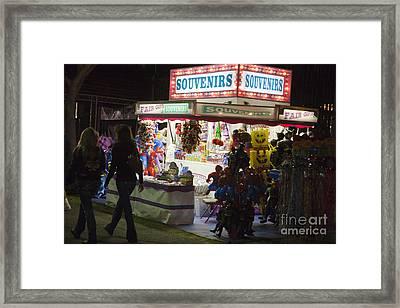 Carnival Souvenirs Framed Print by Jason O Watson