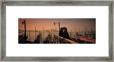 Carnival Venice Italy Framed Print by Panoramic Images