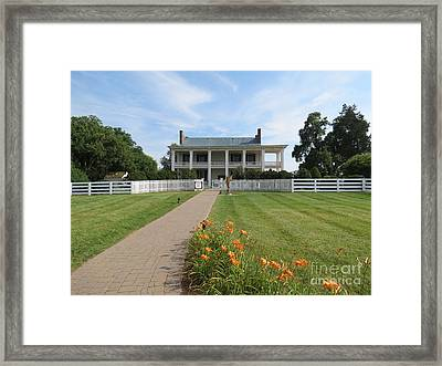 Carnton Plantation Framed Print by Aimee Mouw
