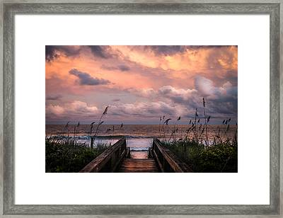 Carolina Dreams Framed Print by Karen Wiles