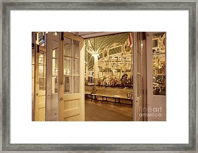 Carousel Framed Print by Juli Scalzi