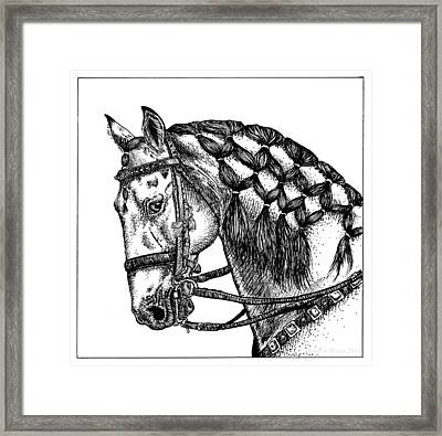 Carousel Framed Print by Shannon Bryan