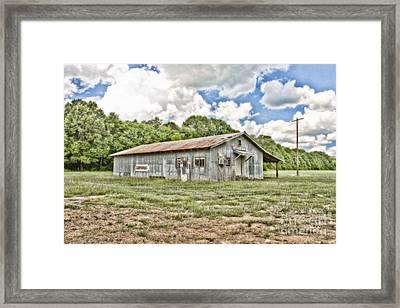 Carpenter Building Framed Print by Scott Pellegrin