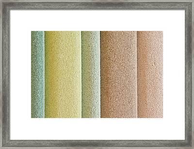 Carpets Framed Print by Tom Gowanlock