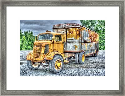 Carrier Framed Print by Dan Stone