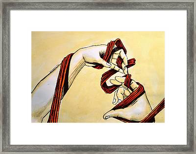 Carriers Of The Communication Framed Print by Paulo Zerbato