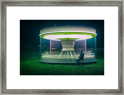 Carrousel Framed Print by Djaniru
