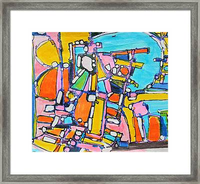 Carry Your Own Joy Framed Print by Hari Thomas